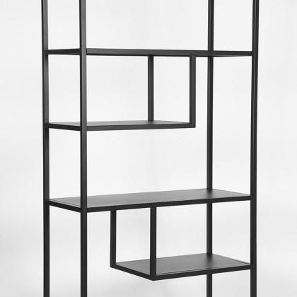 LABEL51 Boekkast Loft - Zwart - Metaal