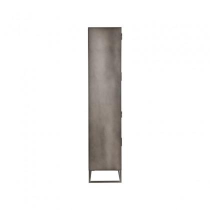 LABEL51 Vitrinekast Level - Vintage Metaal - Metaal - 80x40x190 cm