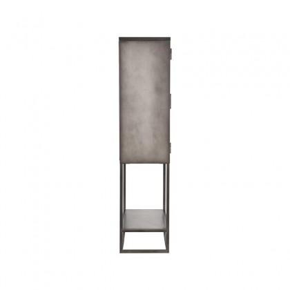 LABEL51 Vitrinekast Level - Vintage Metaal - Metaal - 70x35x150 cm