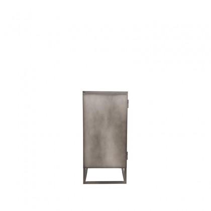 LABEL51 Vitrinekast Level - Vintage Metaal - Metaal - 85x40x85 cm