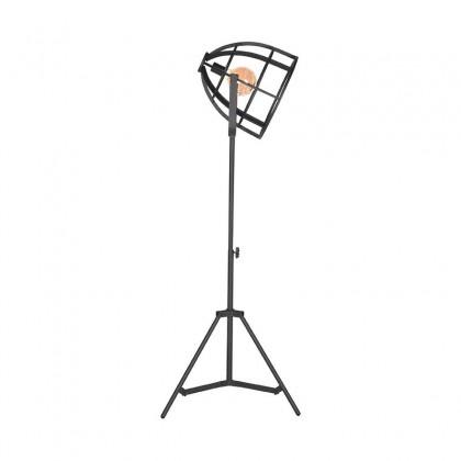 LABEL51 Vloerlamp Fuse - Zwart - Metaal