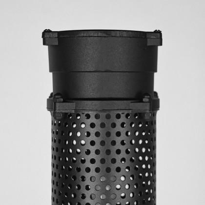 LABEL51 Vloerlamp Tube - Zwart - Metaal