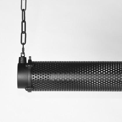 LABEL51 Hanglamp Tube - Zwart - Metaal