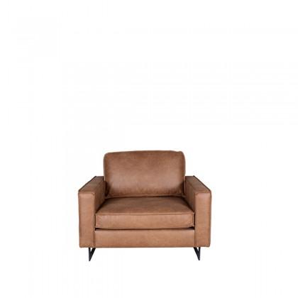 LABEL51 Bank Arezzo - Cognac - Microfiber - 1-Zits