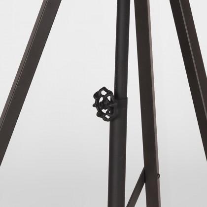 LABEL51 Vloerlamp Twine - Zwart - Metaal