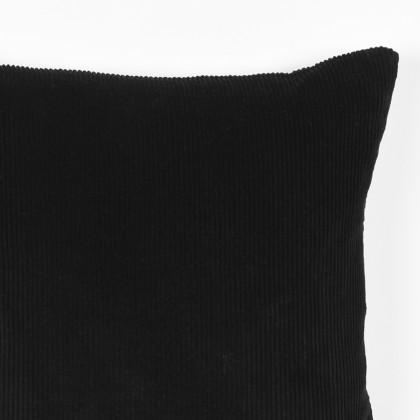 LABEL51  Rib - Zwart - Katoen