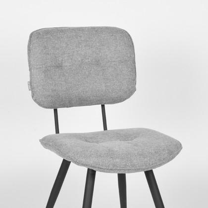 LABEL51 Eetkamerstoel Lux - Zinc - Weave