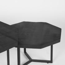 LABEL51 Salontafel Set Figure - Zwart - Mangohout