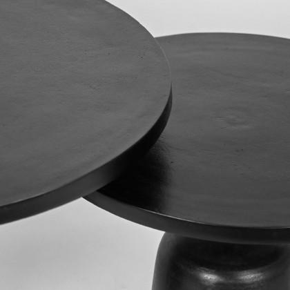 LABEL51 Salontafel Set Wink - Zwart - Metaal