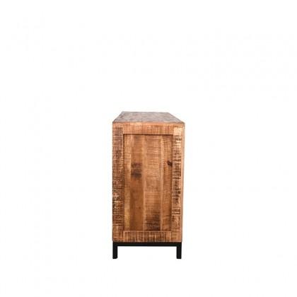 LABEL51 Dressoir Ghent - Rough - Mangohout - 190 cm