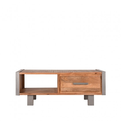 LABEL51 Salontafel Factory - Rough - Mangohout - 120x60 cm