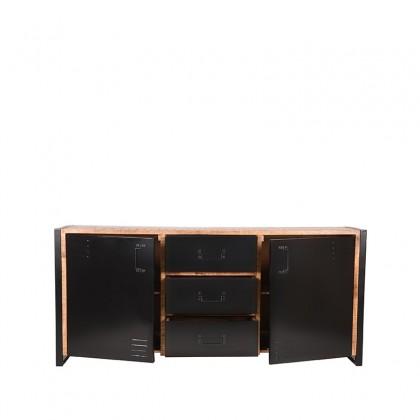LABEL51 Dressoir Brussels - Rough - Mangohout - 190 cm