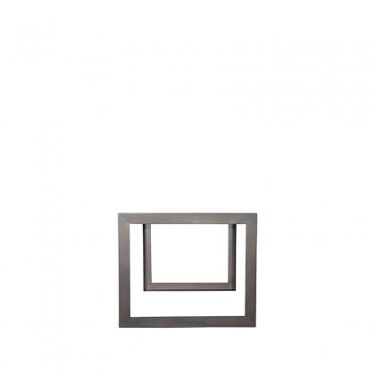 LABEL51 Eetkamertafel Factory - Rough - Mangohout - 160x90 cm