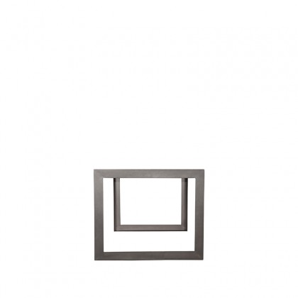 LABEL51 Eetkamertafel Factory - Rough - Mangohout - 180x90 cm