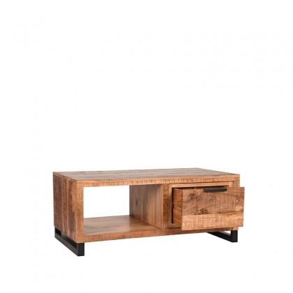 LABEL51 Salontafel Glasgow - Rough - Mangohout - 110x60 cm