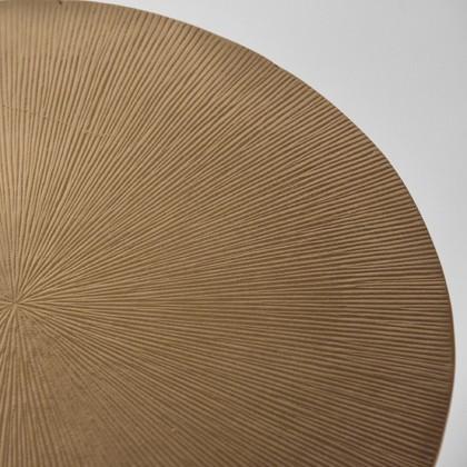LABEL51 Bijzettafel Nobby - Antiek goud - Metaal - 40 cm