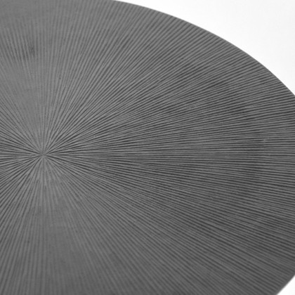 LABEL51 Bijzettafel Nobby - Antiek ash - Metaal - 40 cm