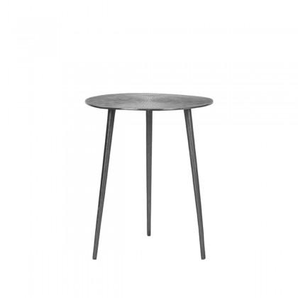 LABEL51 Bijzettafel Nobby - Grijs - Metaal - 40 cm