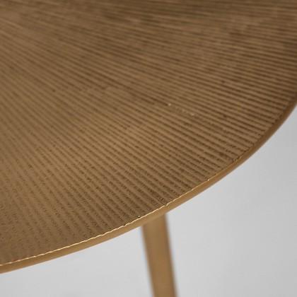 LABEL51 Salontafel Nobby - Goud - Metaal - 50 cm