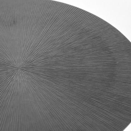 LABEL51 Salontafel Nobby - Grijs - Metaal - 50 cm