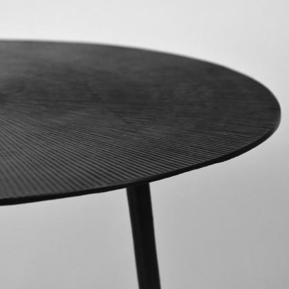 LABEL51 Salontafel Nobby - Zwart - Metaal - 60 cm