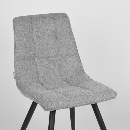 LABEL51 Eetkamerstoel Jelt - Zinc - Weave