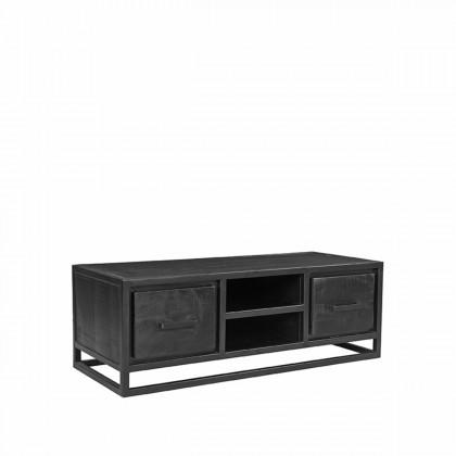 LABEL51 Tv-meubel Chili - Zwart - Mangohout