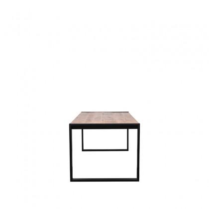LABEL51 Eetkamertafel Brussels - Rough - Mangohout - 200x90 cm