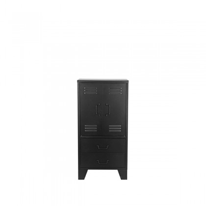 LABEL51 Bergkast Fence - Zwart - Metaal