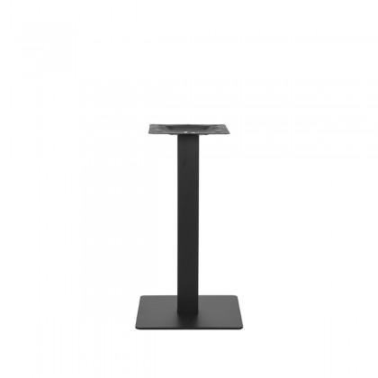 LABEL51 Poot Restauranttafel 40x40x71 cm - Zwart - Metaal