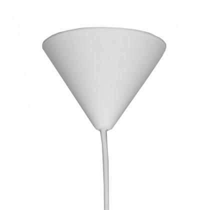 LABEL51 Hanglamp Twist - Wit - Vlas - M