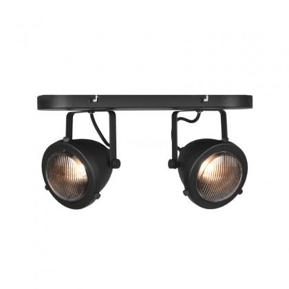 LABEL51 Spot Moto led - Zwart - Metaal - 2 Lichts