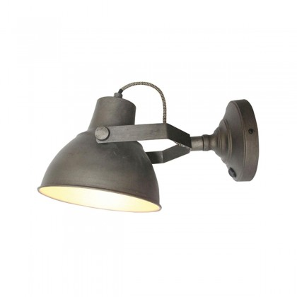 LABEL51 Wandlamp Raw - Grijs - Metaal - XL