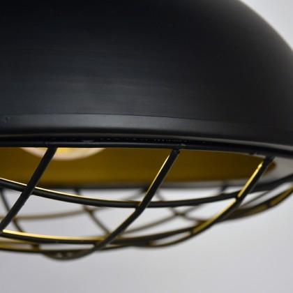 LABEL51 Hanglamp Grid - Zwart - Metaal - 34 cm