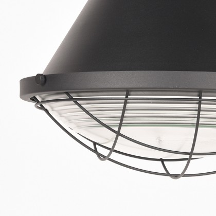 LABEL51 Hanglamp Duisburg - Zwart - Metaal