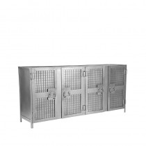 LABEL51 Dressoir Gate - Burned Steel - Metaal - 170 cm