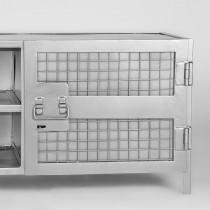 LABEL51 Tv-meubel Gate - Burned Steel - Metaal - 160 cm