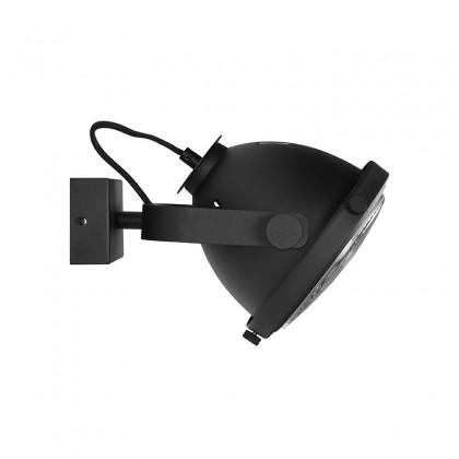 LABEL51 Wandlamp Tuk-Tuk - Zwart - Metaal