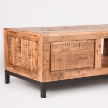 LABEL51 Salontafel Ghent - Rough - Mangohout - 110x60 cm