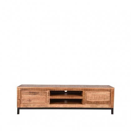 LABEL51 Tv-meubel Ghent - Rough - Mangohout - 160 cm