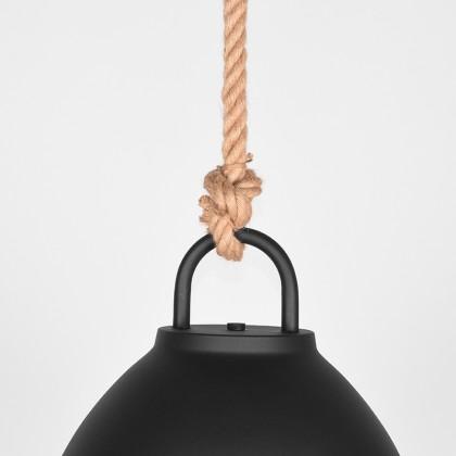 LABEL51 Hanglamp Korf - Zwart - Metaal - L