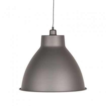LABEL51 Hanglamp Dome - Metallic Grey - Metaal
