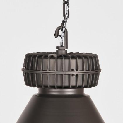 LABEL51 Hanglamp Duisburg - Burned Steel - Metaal
