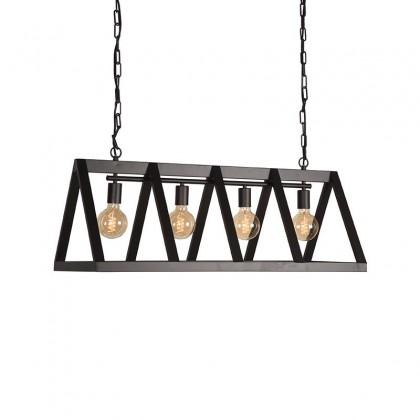 LABEL51 Hanglamp Roof - Zwart - Metaal