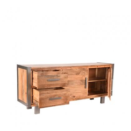 LABEL51 Dressoir Factory - Rough - Mangohout - 180 cm