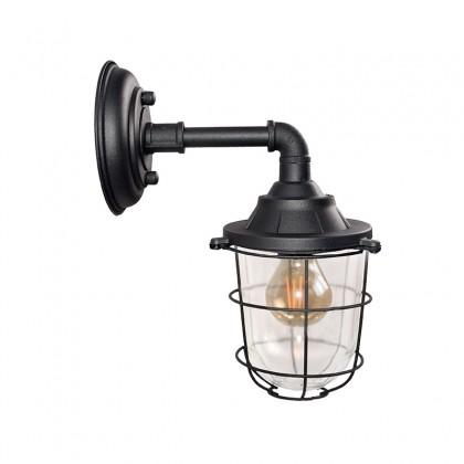 LABEL51 Wandlamp Seal - Zwart - Metaal
