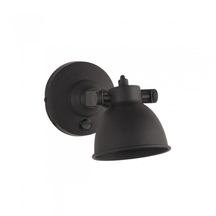 LABEL51 Wandlamp Bow - Zwart - Metaal - M