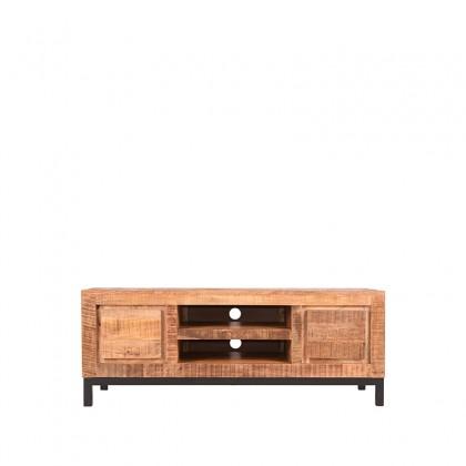 LABEL51 Tv-meubel Ghent - Rough - Mangohout - 120 cm