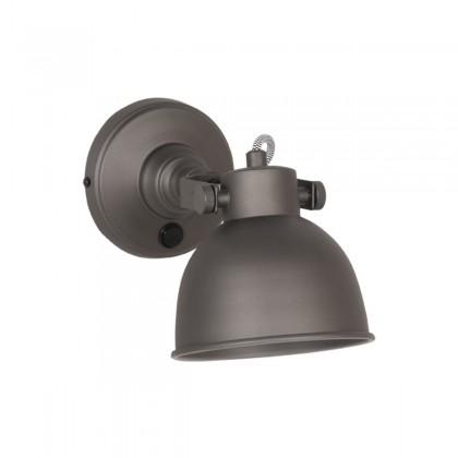 LABEL51 Wandlamp Bow - Grijs - Metaal - L