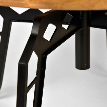 LABEL51 Salontafel Pebble - Rough - Mangohout - Rond - 60 cm